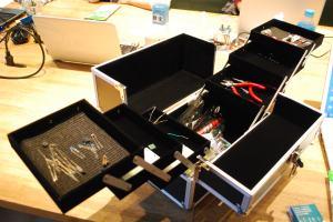 電子工作部品工具セット